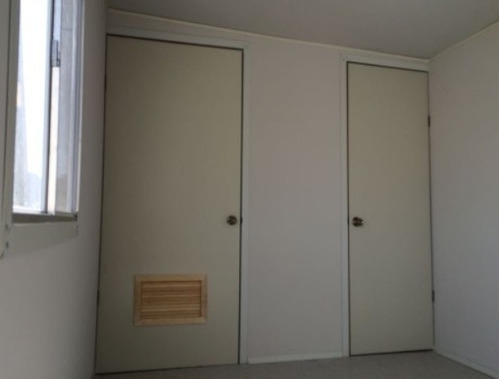 09) oficina movil 8´x32´ nueva con baño y privado garper