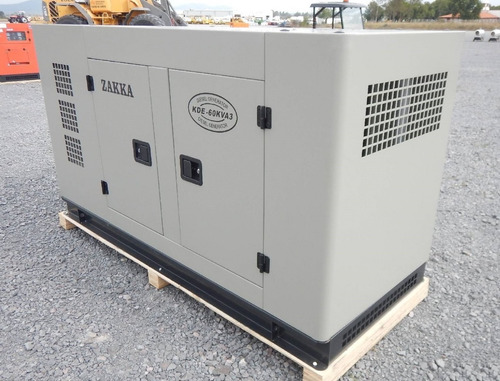 09) planta de luz y emergencia zakka 40 kw 127/220 v nueva