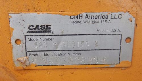 09) retroexcavadora case 580 m series 2, 2005