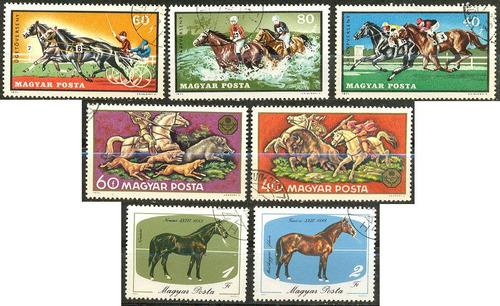0986 caballos dif razas hungría 7 s c t o n h 1985-87