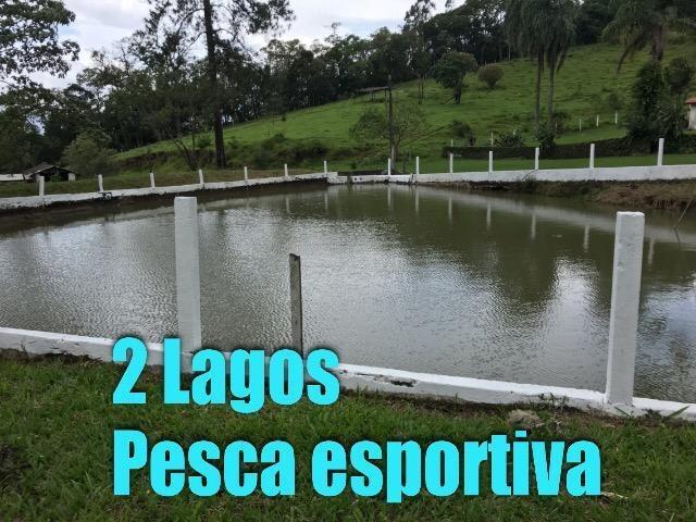 09b-  terreno com 2 lagos pra pesca rico em peixe!