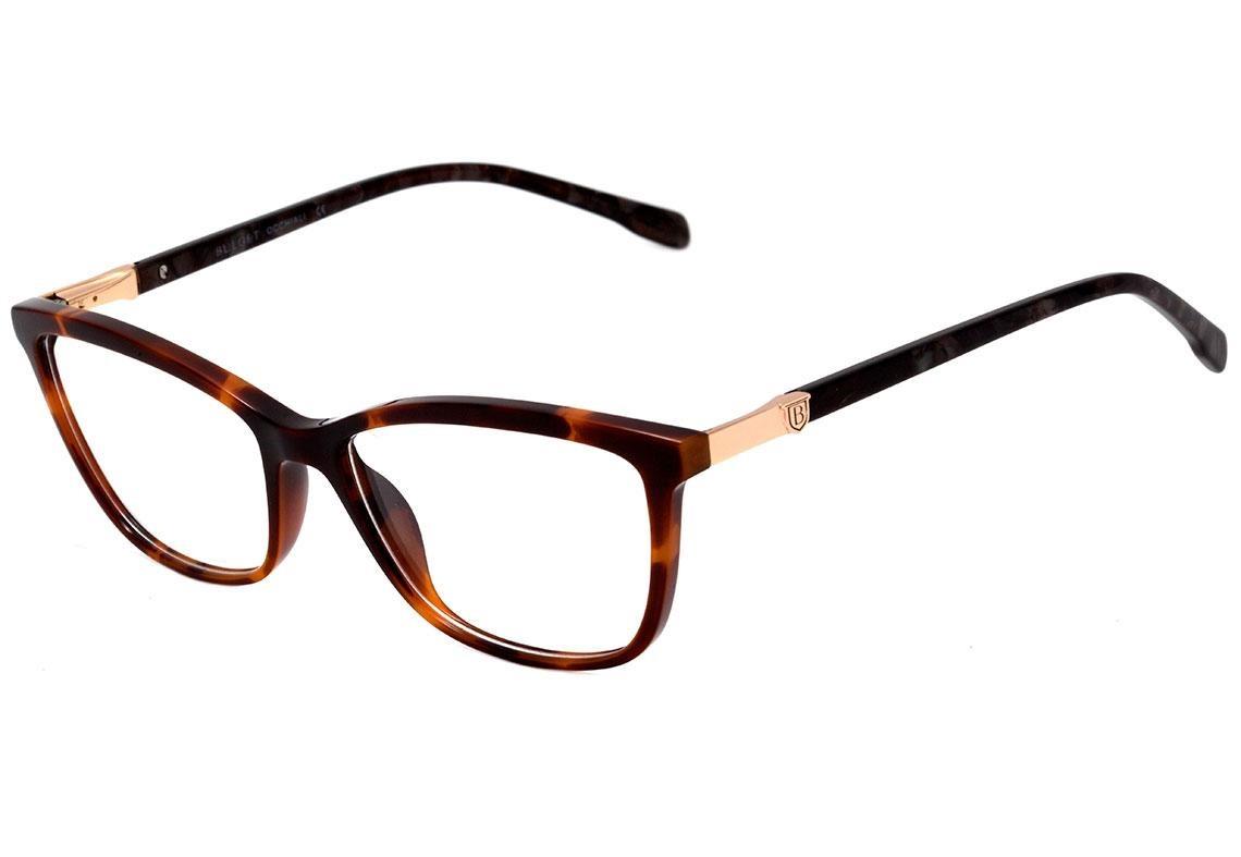 68fb81e2645f5 0bulget Bg 6288 - Óculos De Grau G21 Marrom Mesclado Brilho - R  242 ...