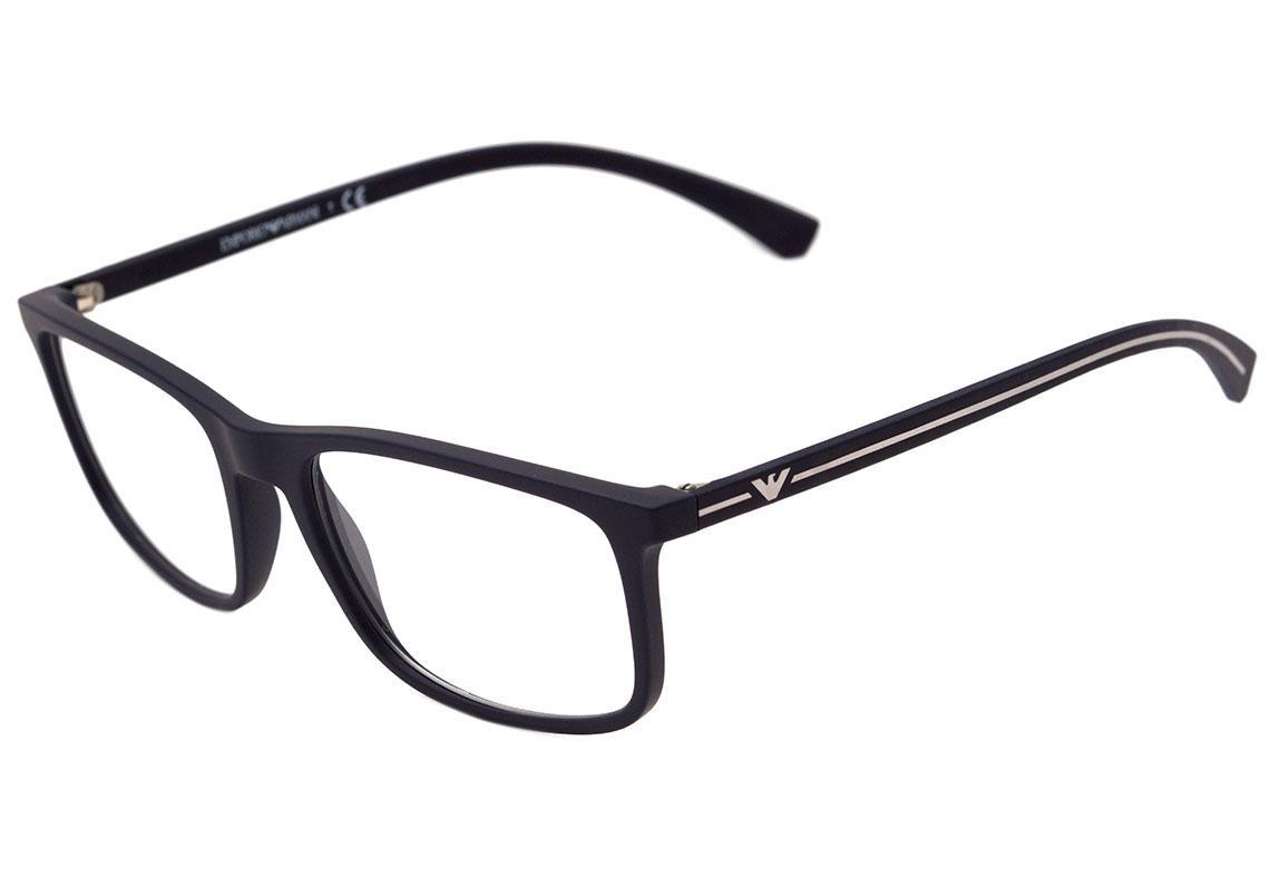 0emporio Armani Ea 3135 - Óculos De Grau 5692 Azul Fosco - R  476,10 em  Mercado Livre 2cb9a3f7b6