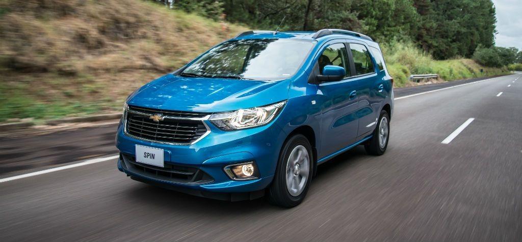 0km Nueva Chevrolet Spin 5ptas 5asi 18 Lt Mt 646400 En