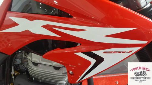 0km. tornado xr 250 - power bikes