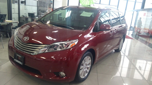 0km toyota sienna 3.5 limited at $750,000 desde 10% enganche