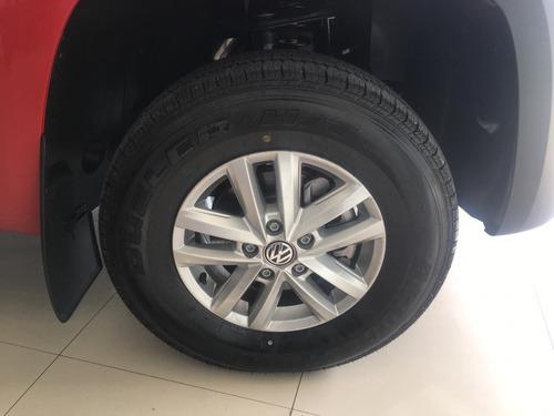 0km volkswagen amarok 2.0 cd tdi 140cv trendline 4x2 2019 xe