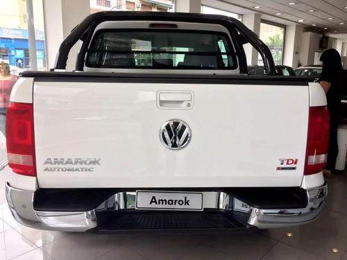 0km volkswagen amarok 2.0 cd tdi 180cv 4x4 highline pack 20