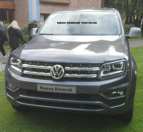 0km volkswagen amarok 2.0 cd tdi 180cv comfortline 4x2 2019