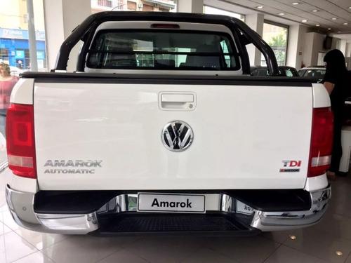 0km volkswagen amarok 2.0 cd tdi 180cv highline at tasa 5% b