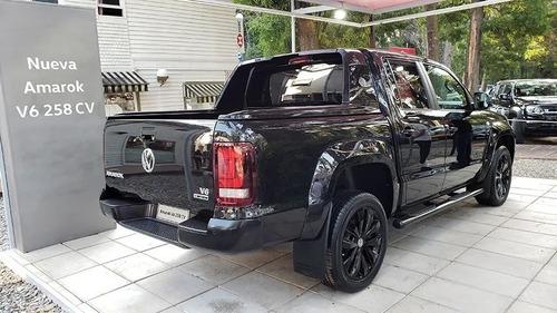 0km volkswagen amarok 3.0 v6 black style edition 258cv 52