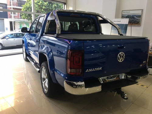 0km volkswagen amarok 3.0 v6 cd highline 4x4 tasa 5% vw 20