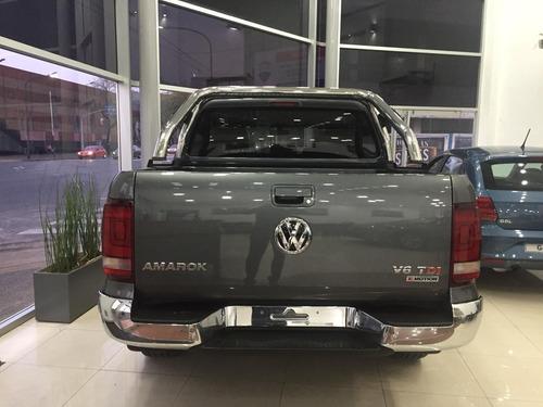 0km volkswagen amarok 3.0 v6 cd highline 4x4 tasa 5% vw 32