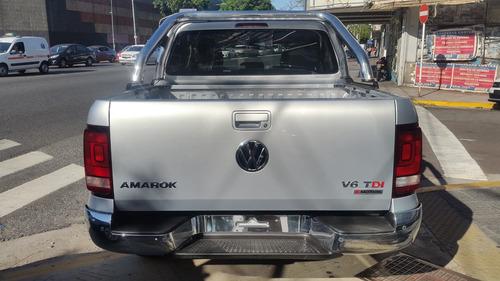 0km volkswagen amarok 3.0 v6 cd highline 4x4 tasa 5% vw 35