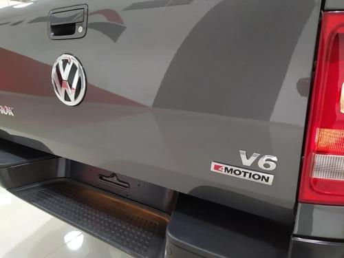 0km volkswagen amarok v6 confortline financio tasa 0% 3