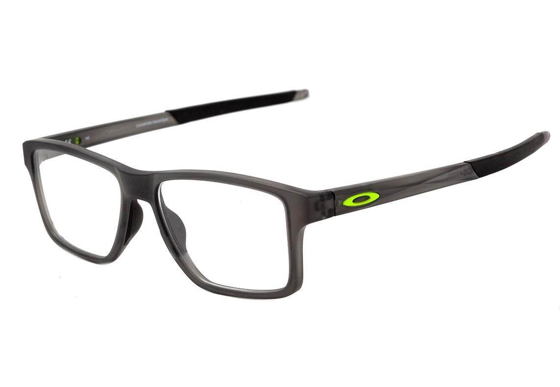 0oakley chamfer squared - óculos de grau satin grey smoke. Carregando zoom. daf493400f