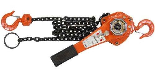 1-1 / 2 toneladas polipasto cadena cadena ven a lo largo de