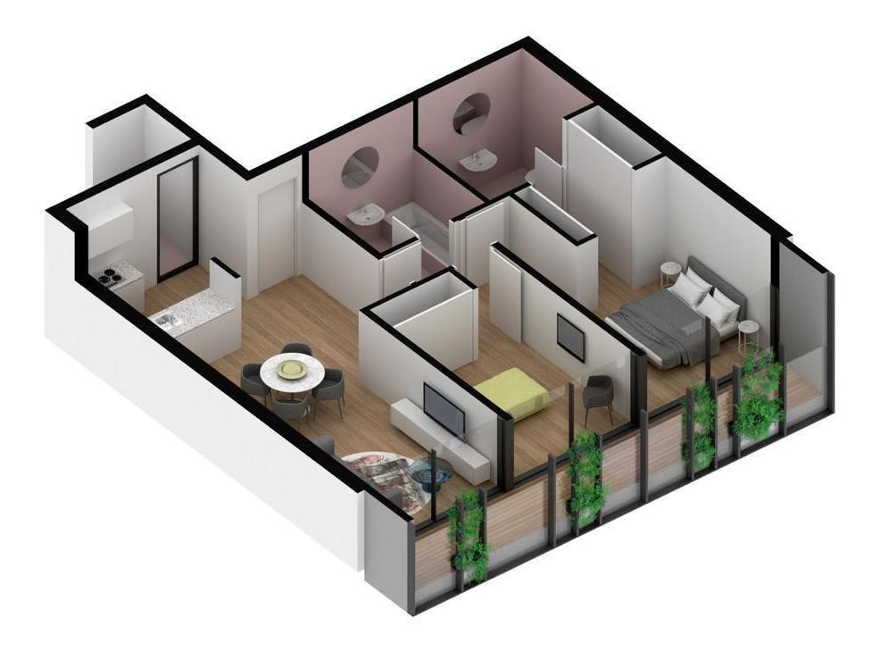 1-2-3 dorm.   op. coch.   amenities