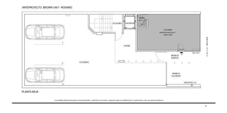 1, 2 y 3 dormitorios a metros del río