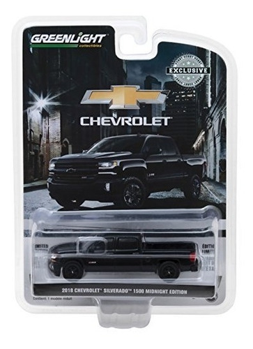 1: 64 2018 chevrolet silverado 1500 z71 crew cab midnight ed