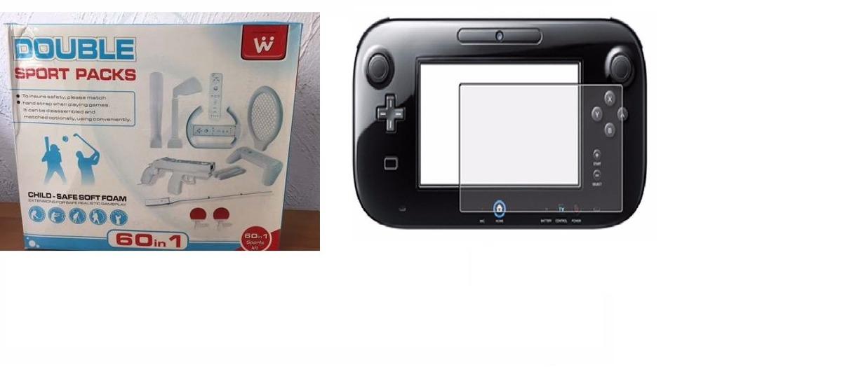 1 Acessórios Esportivos Console Wii E 1 Pelicula Wii U - R$ 33,99 on