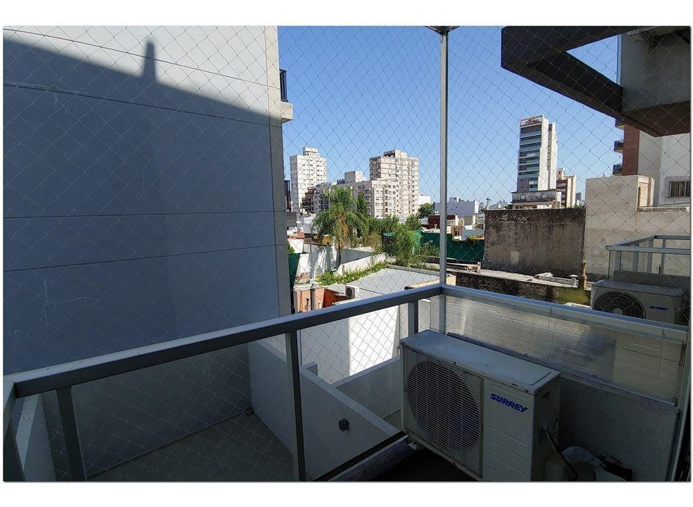 1 amb dividido 33 m2 balcón flores norte