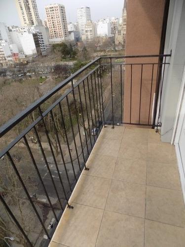 1 amb externo con balcón y vista panorámica