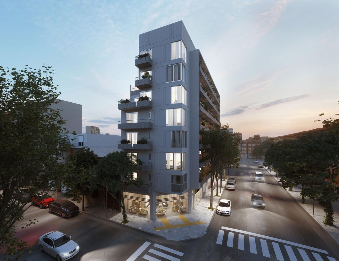 1 ambiente 46m2 en recoleta. amenities. win barrio norte