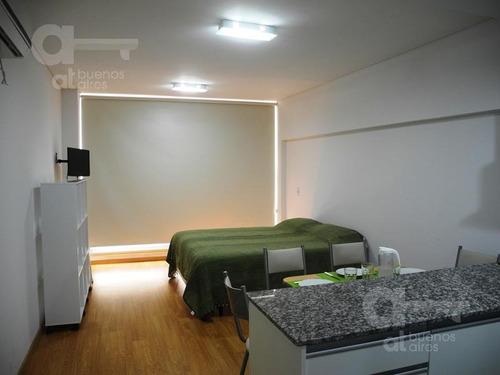 1 ambiente. alquiler temporario en san telmo. amenities!