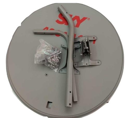 1 antena ku 60cm+1 lnb duplo