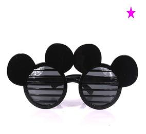 de15e5933 10 Anteojos Gafas Cotillon Fiesta Mickey Disfraz Souvenir