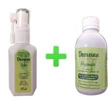 1 Antimicótuco Spray Decreina 45ml + 1 Higienize 150 Ml - R  69,99 ... 4dec7152c0