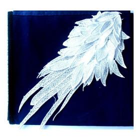 1 Aplique Blanco Ala Angel/hombro/cintura/buzo/vestido/blus