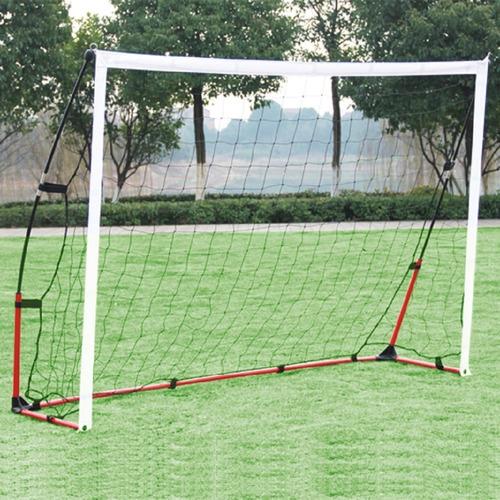 1 arco futbol red desarmable 2x1,4.m entrenamiento practica