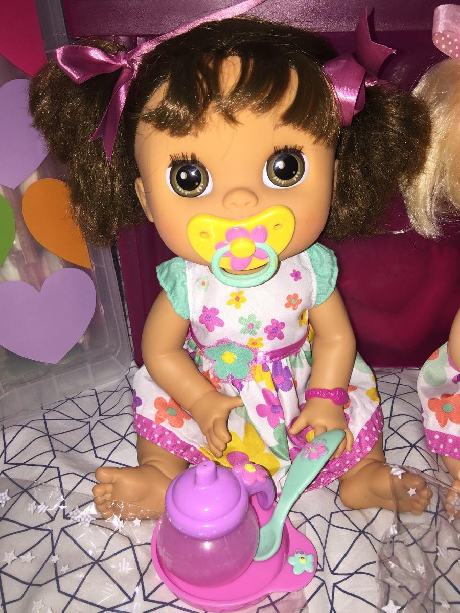 d48eb9637a 1 baby alive comer e brincar rara morena c  acessórios. Carregando zoom.