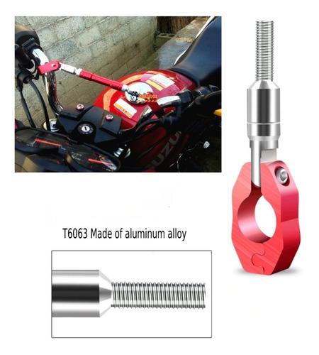 1 barra estabilizadora aluminio para manubrio moto universal