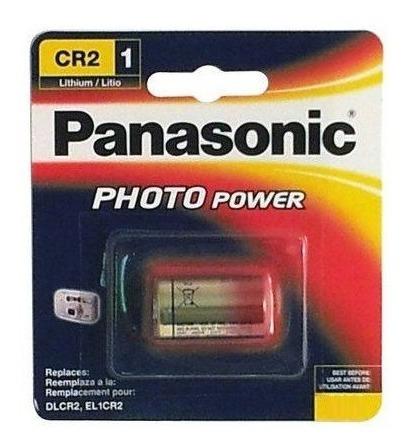 1 bateria pilha 3v cr2 lithium photo power panasonic