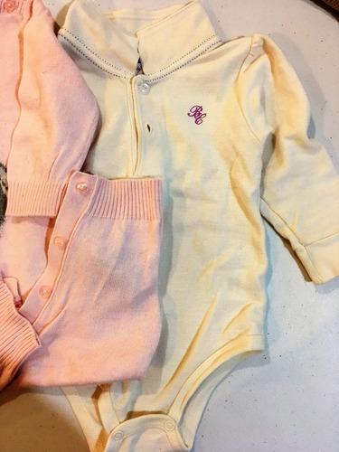 1 blusa pañalero baby creysi