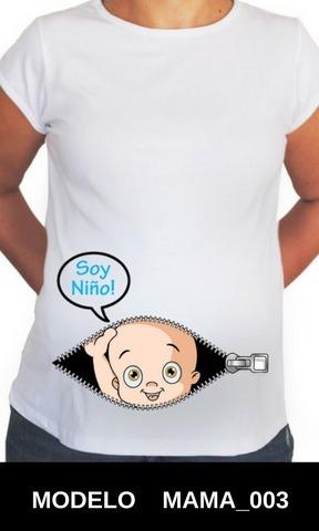 17913c8d1 1 Blusa Playera Embarazo Maternidad Personalizada -   159.00 en ...