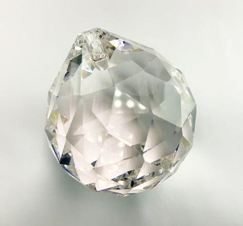 1 bola cristal swarovski 30mm legítima feng shui - original