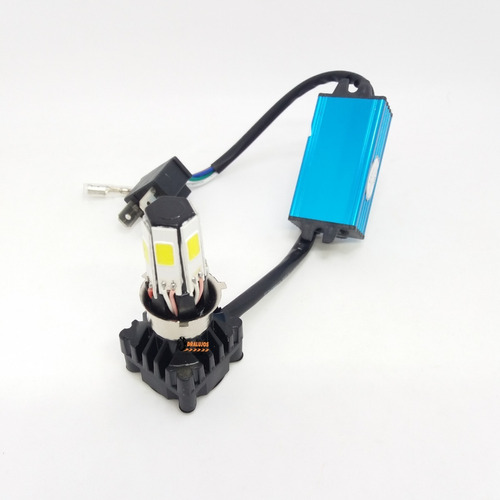1 bombillo luz led mini 4100lm 6000k moto/carro hjg