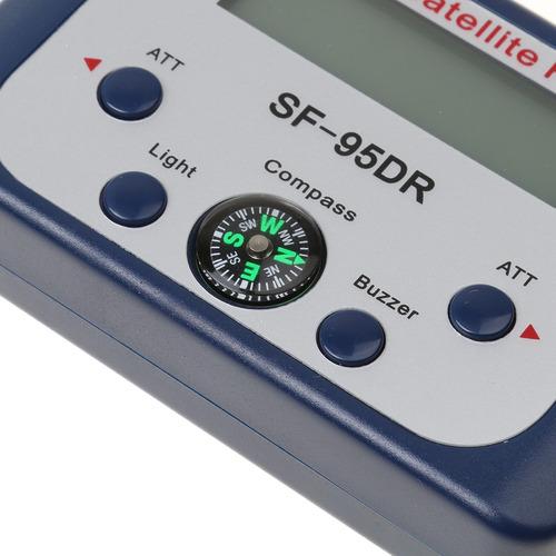 1 buscador localizador de satélite digital con manual de us