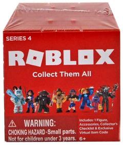 1 Caixa Misteriosa Roblox - Series 4 Figura 7 Cm - Blind Bag