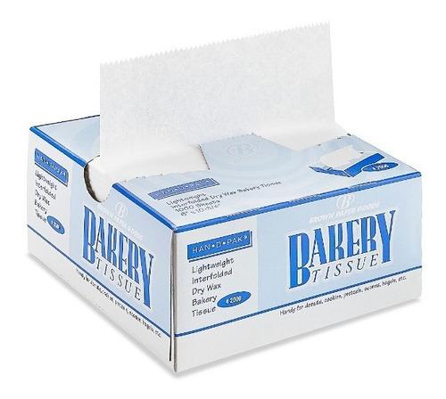 1 caja con 1000 hojas papel encerado para alimentos 15x27cm
