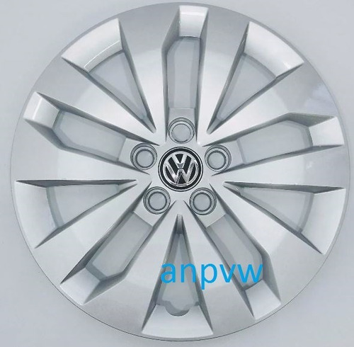 1 calota aro 15 original volkswagen 5f fox spacefox 2010...