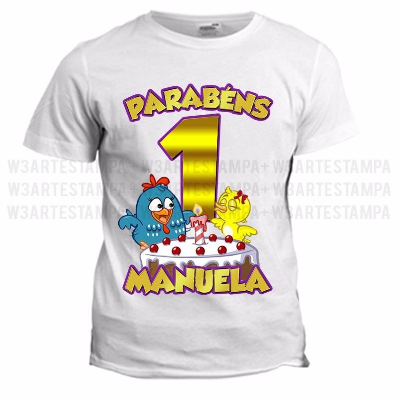 234e56cab5 1 Camiseta Personalizada Aniversário Camisa Qualquer Tema - R  31