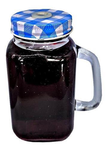 1 canequinha mini caneca mason jar 200ml vidro lembrancinha