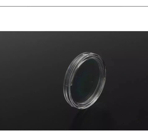 1 capsula 32mm transparente nueva para monedas de $20 pesos
