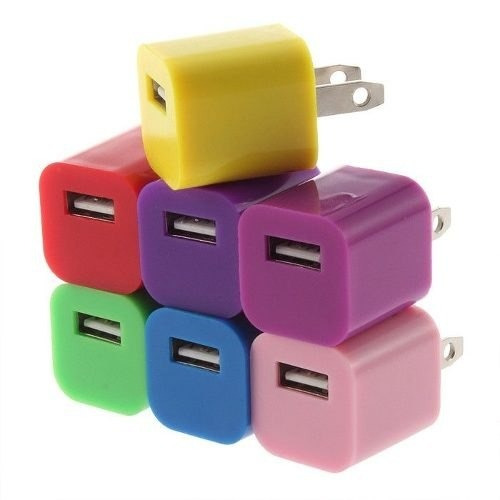 1 cargador pared usb ipod iphone5 4 s4 nokia galaxy sony lte