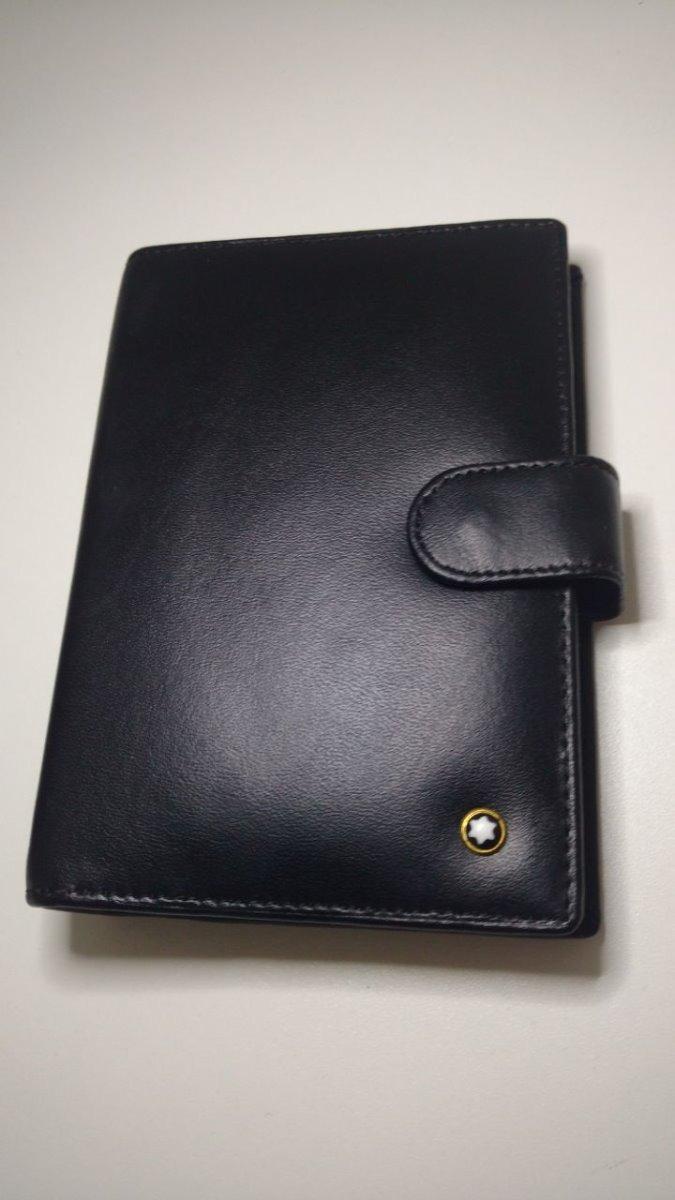 a41a02270 1 carteira masculina gucci marrom 1 agenda mont blanc. Carregando zoom.